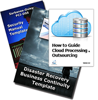 Disaster Recovery Planning and Business Contiuity Planning  Security and Outsourcing Templates