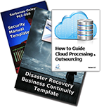 Cloud Outsourcing DR BC and Security Templates