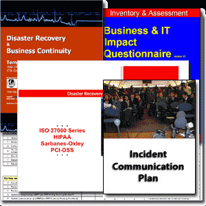 Disaster Recovery Template Version 6.0