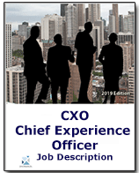 Chief Experience Officer job Description