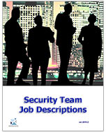Security Team Job Descriptions