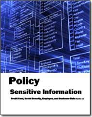 Sensitive Information Policy - Privacy